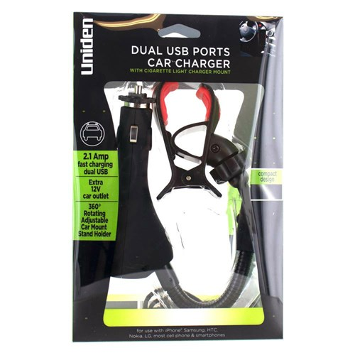 uniden unpn249 dual usb ports car charger