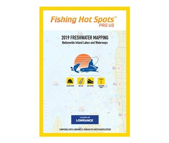 fishing hot spots pro usa 2019 digital map and chip e119