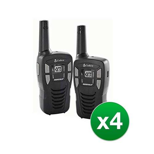 cobra cxt195 16 mile two way radio 8 radios
