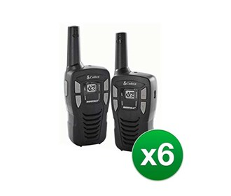 cobra cxt195 16 mile two way radio 12 radios
