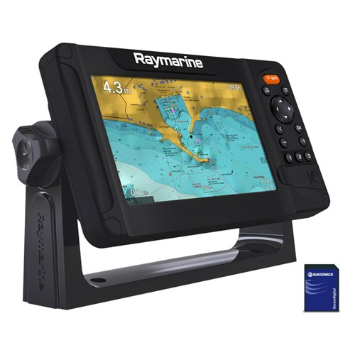 raymarine element 7 s mfd with nav plus us and canada chart
