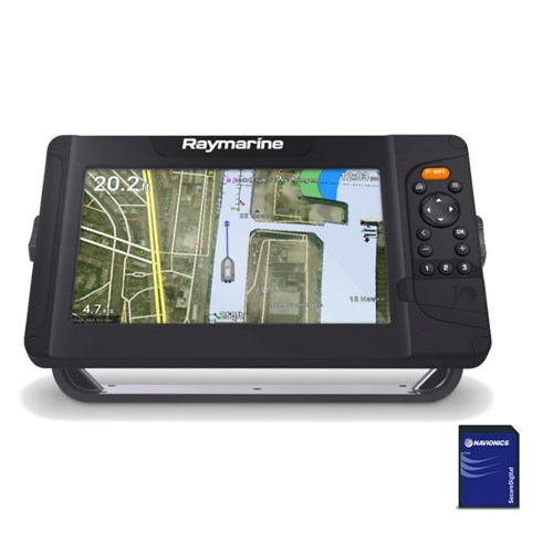 raymarine element 9 s mfd with nav plus us and canada chart