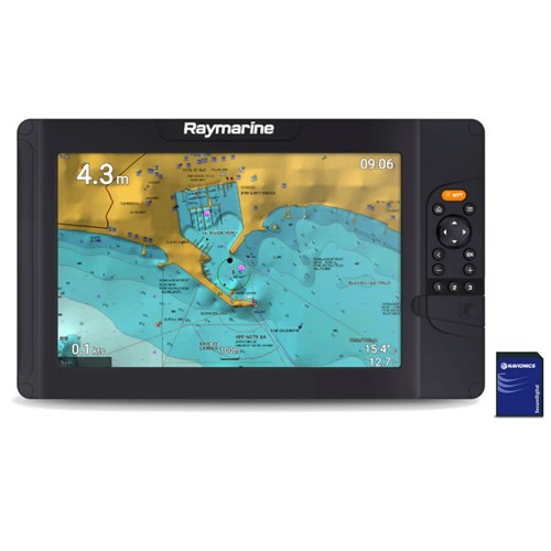 raymarine element 12 s mfd with nav plus us and canada chart