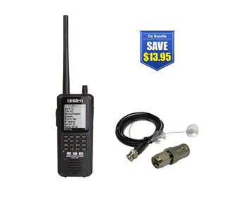 uniden bearcat bcd436hp with mobile scanner antenna