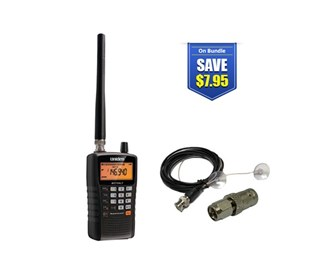 uniden bearcat bc75xlt with mobile scanner antenna
