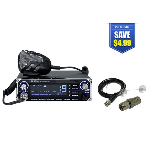 uniden beartracker 885 with mobile scanner antenna