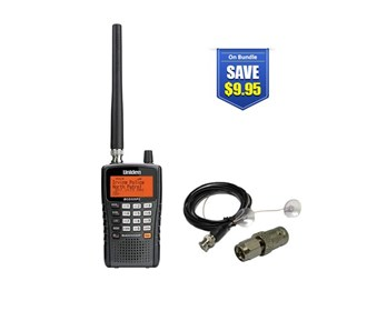uniden bearcat bcd325p2 with mobile scanner antenna