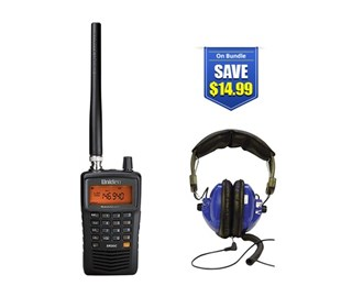 uniden bearcat sr30c with universal headset