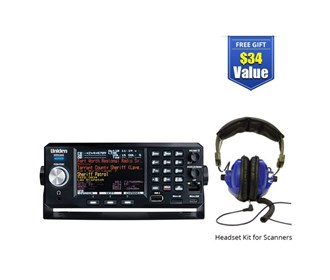 uniden bearcat sds200 with universal headset kit