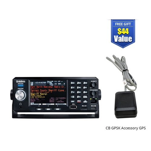 uniden bearcat sds200 with accessory gps