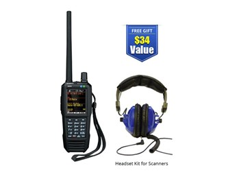 uniden bearcat sds100 with universal headset