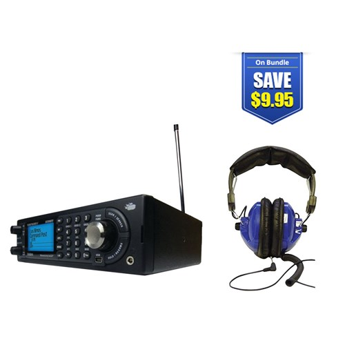 uniden bearcat bcd996p2 with universal headset kit