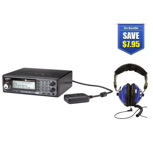 uniden bearcat bcd536hp with universal headset