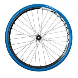 """Product # T1397 <br /> <ul> <li><span class=""""blackbold"""">Trainer MTB Tire</span></li> <li>Ideal for Indoor Training</li> <li><span class=""""bluebold"""">Minimises the Risk of Overheating</span></li> <li><span class=""""blackbold"""">Noiseless Tire</span></li> <li>Size: 32-622 (28x1.25)</li> </ul>"""