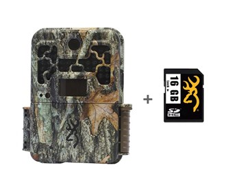 browning recon force advantage camera with 16 gb sd card