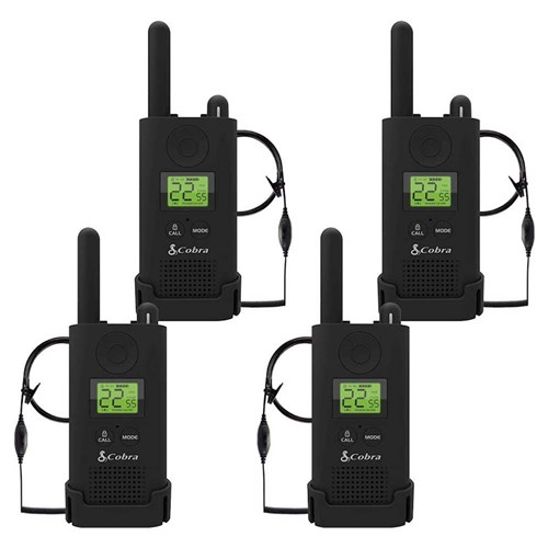 cobra px500bc2 sv01 walkie talkies pro business two way radios