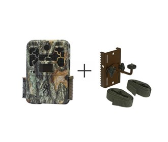 browning recon force advantage camera with tree mount