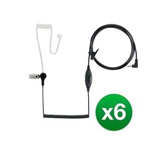 cobra ga sv01 surveillance headset microphone 6 pack