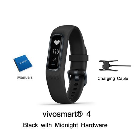 garmin vivosmart 4 black midnight small medium