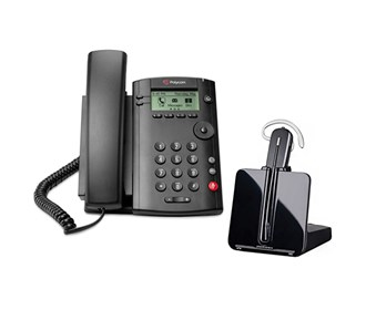 polycom vvx 101 with plantronics cs540