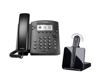 polycom vvx 300 with plantronics cs540
