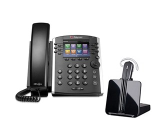 polycom vvx 400 with plantronics cs540