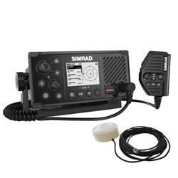 """Product # 000-14818-001 <br /> <ul> <li><span class=""""blackbold"""">VHF Marine Radio</span></li> <li><span class=""""bluebold"""">Integrated GPS Receiver</span></li> <li>Integrated Class B AIS Transceiver</li> <li>NMEA 0183&reg; &amp; NMEA 2000&reg; Compatible</li> <li>Optional Loudhailer or External Speaker</li> <li>Connect up to 2 Wireless Handsets</li> <li>Removable Fist Mic</li> <li>Class D DSC Approved VHF Radio</li> <li>Power Output: 25 Watts</li> <li>GPS-500 Included</li> </ul>"""