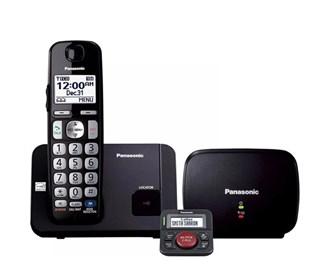 panasonic kx tge210b with range extender and call blocker