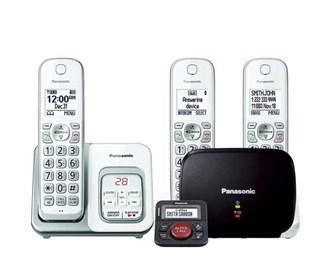 panasonic kx tgd533w with range extender and call blocker