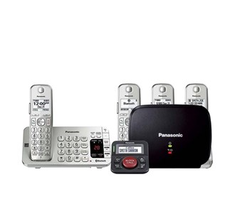 panasonic kx tge474s with range extender and call blocker