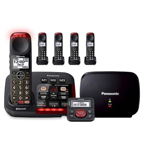 Panasonic kx tgm430b Kit with range extender and call blocker