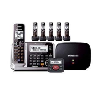 panasonic kx tg7875s plus 1 kx tga680s with range extender and call blocker