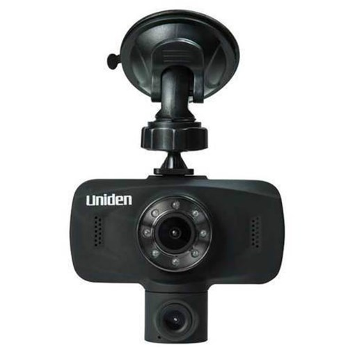 uniden dc115 iwitness dual dash camera unboxed single pack