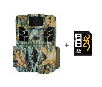 browning dark ops pro x camera with 16 gb sd card