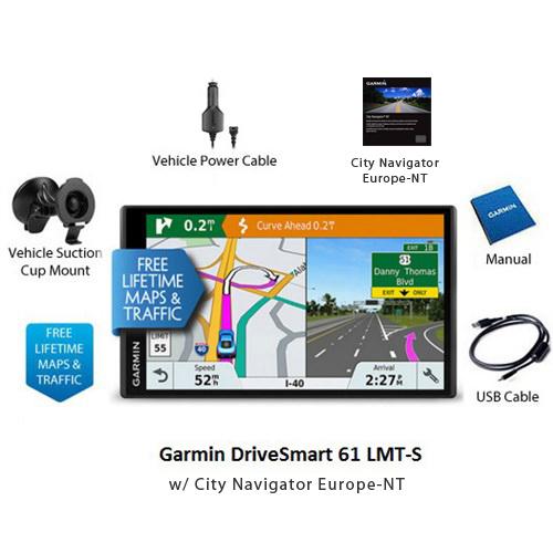 garmin drivesmart 61lmt s north america w city navigator nt europe