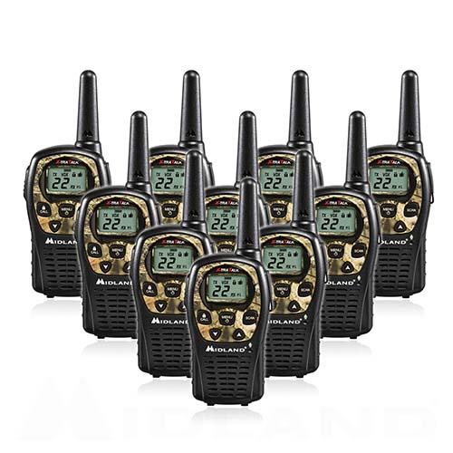 midland xtra talk lxt535vp3 10 radios