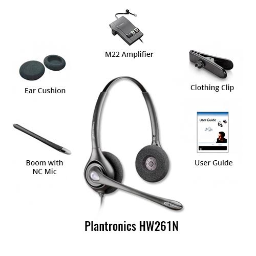 plantronics supraplus hw261n free upgrade to encorepro hw520 w/ m22 amplifier