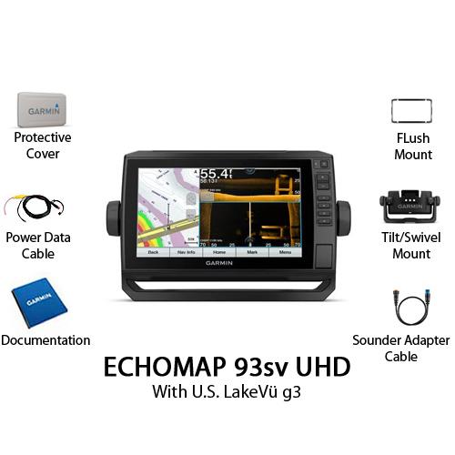 garmin echomap 93sv uhd without transducer