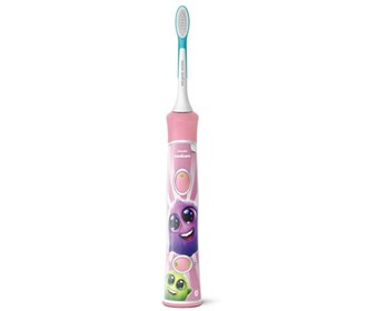 sonicare kids toothbrush handle pink hx6351/41