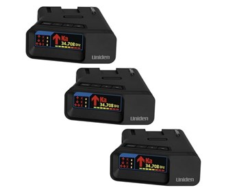 uniden r7 extreme long range radar detector with gps and threat detection