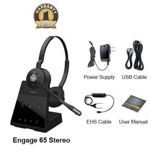 jabra engage 65 stereo with ehs cisco 14201 30