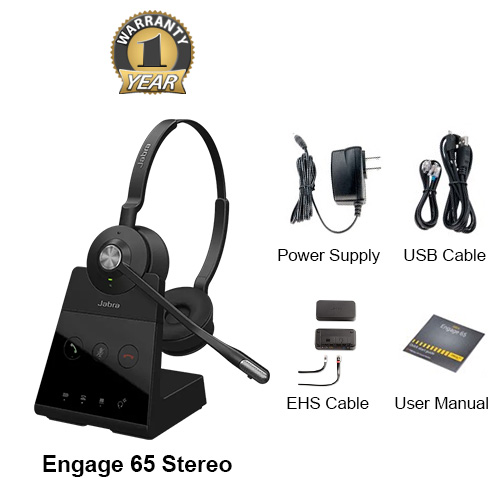 jabra engage 65 stereo with ehs alcatel 14201 20