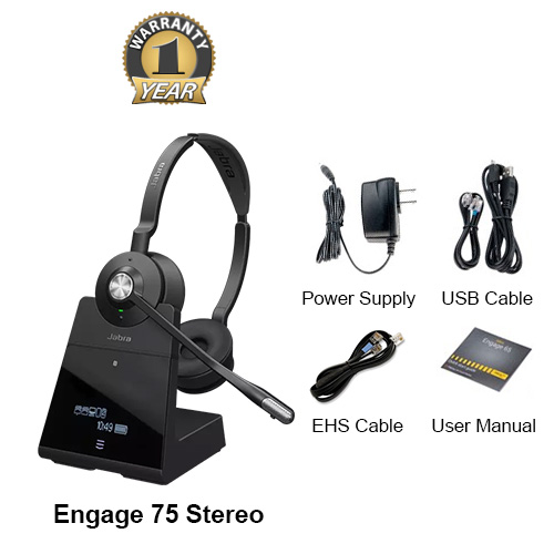 jabra engage 75 stereo with ehs aastra 14201 10