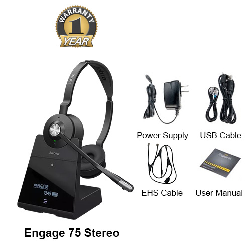 jabra engage 75 stereo with ehs alcatel 14201 09