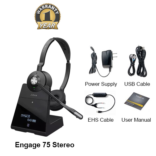jabra engage 75 stereo with ehs nortel 14201 32