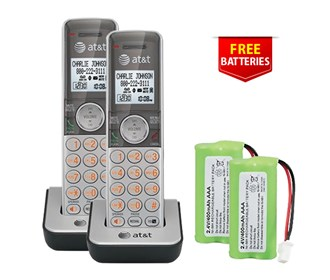 att cl80101 2 pack with free batteries