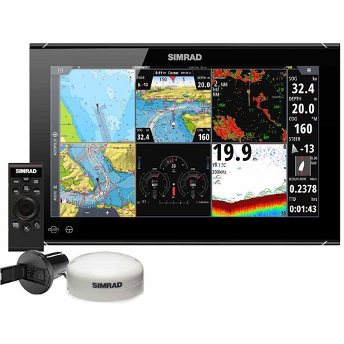 simrad nso evo3s 16 inch mfd system pack
