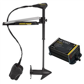 minn kota edge 55 fc l d with mk 106d 55lbs thrust 45inch shaft