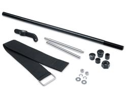 "Product # 1862012 <ul> <li>Bow Mount Stabilizer Kit</li> <li>Reduces Bounce & Vibration</li> <li><span class=""blackbold"">Saltwater Tested & Fully Corrosin Resistant</span></li> <li>Fits Maximum Pro, Maximum, Riptide Pro & Riptide SM Bow-Mount Motors</li> </ul>"