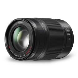 """<ul> <li><span class=""""redbold"""">Lumix G-X Vario 35-100mm / F2.8 Lens </span></li> <li>Micro Four Thirds Mount </li> <li><span class=""""bluebold"""">Power Optical Image Stabilization </span></li> <li>Maximum Diameter: 67.4mm </li> <li><span class=""""blackbold"""">35mm-100mm  Focal Length / F2.8 Aperture Range </span></li> <li>2.8' Minimum Focus Distance </li> <li>2 ED Lenses & 1 UED Lens </li> </ul>"""